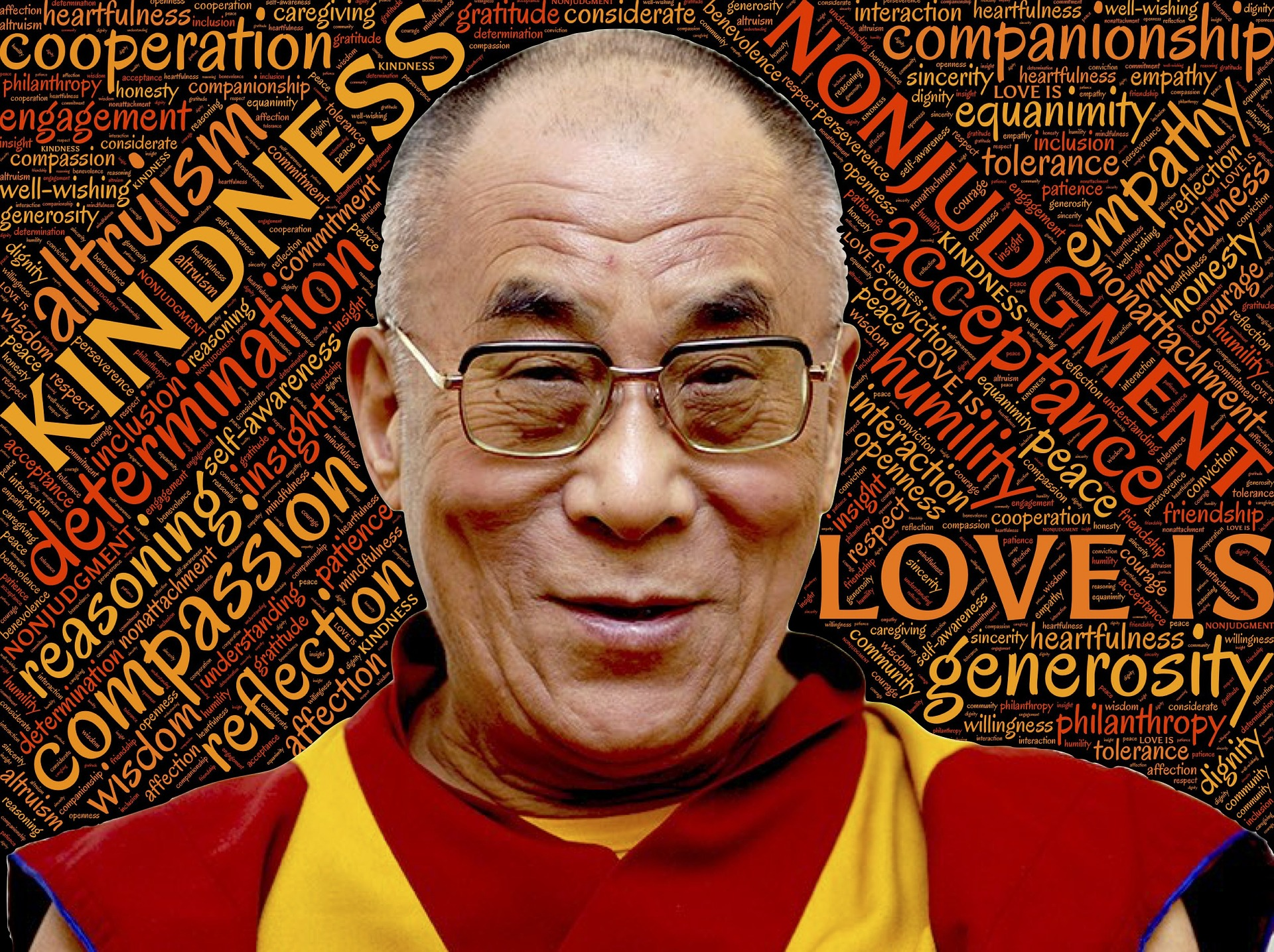 Les 10 voleurs de notre énergie selon le Dalai Lama